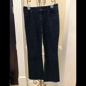 Chico's Platinum Boot Cut Jeans